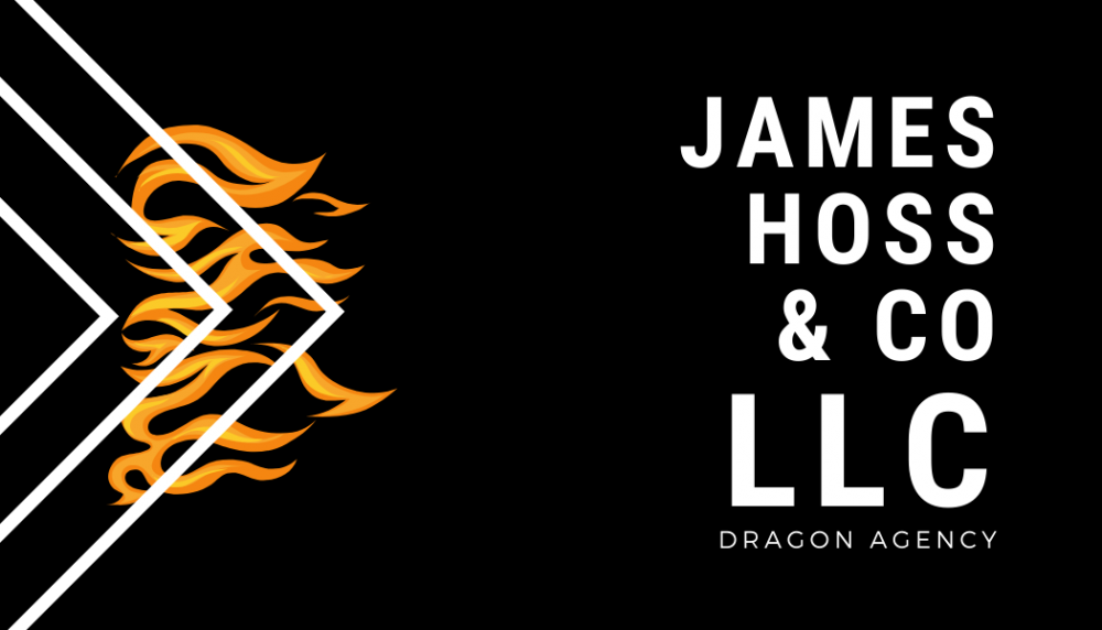 Business card for a Dragon Agency
